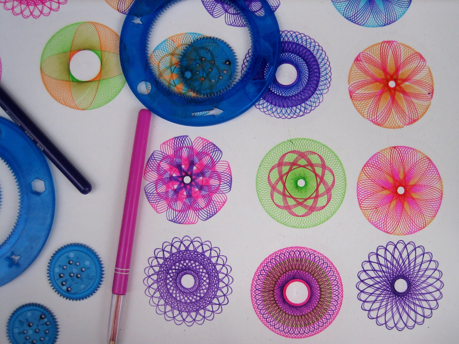 disegni con spirograph