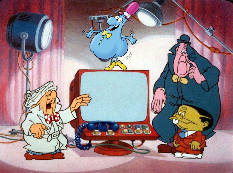 supergulp nick carter fumetti in tv