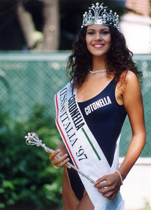 1997 claudia trieste miss italia anni 90
