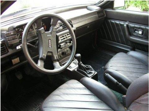 Audi quattro interni