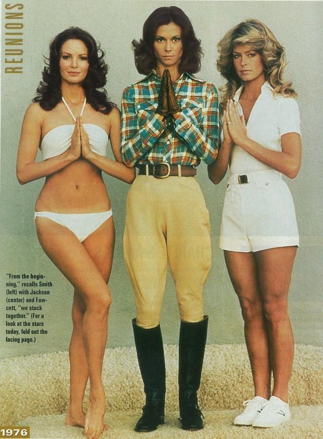 Charlie's angels nel 1976 serie tv giovani sigla