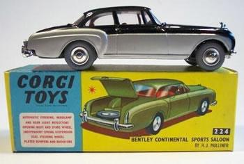 corgi toys bentley