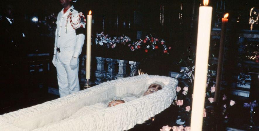 Grace Kelly il funerale morta