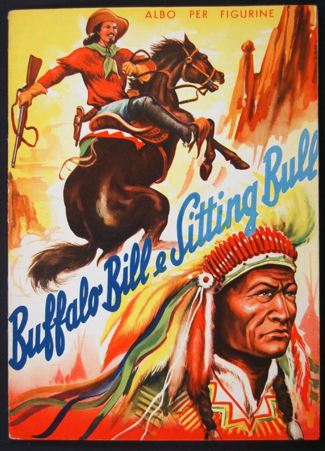 album figurine lampo buffalo bill