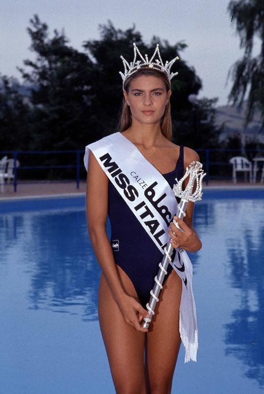 martina colombari 1991 miss italia anni 90