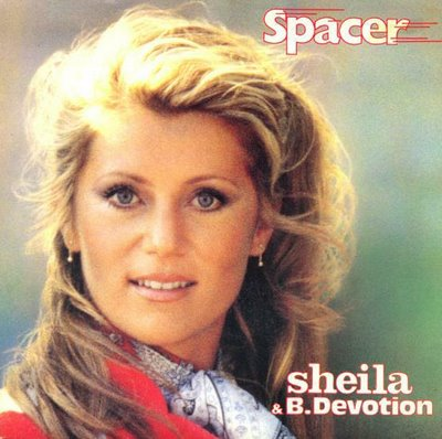 Spacer sheila & black devotion copertina
