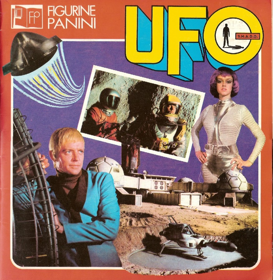 album figurine panini UFO