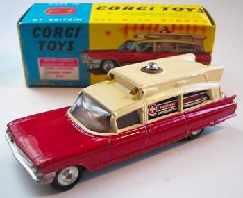 corgi toys cadillac