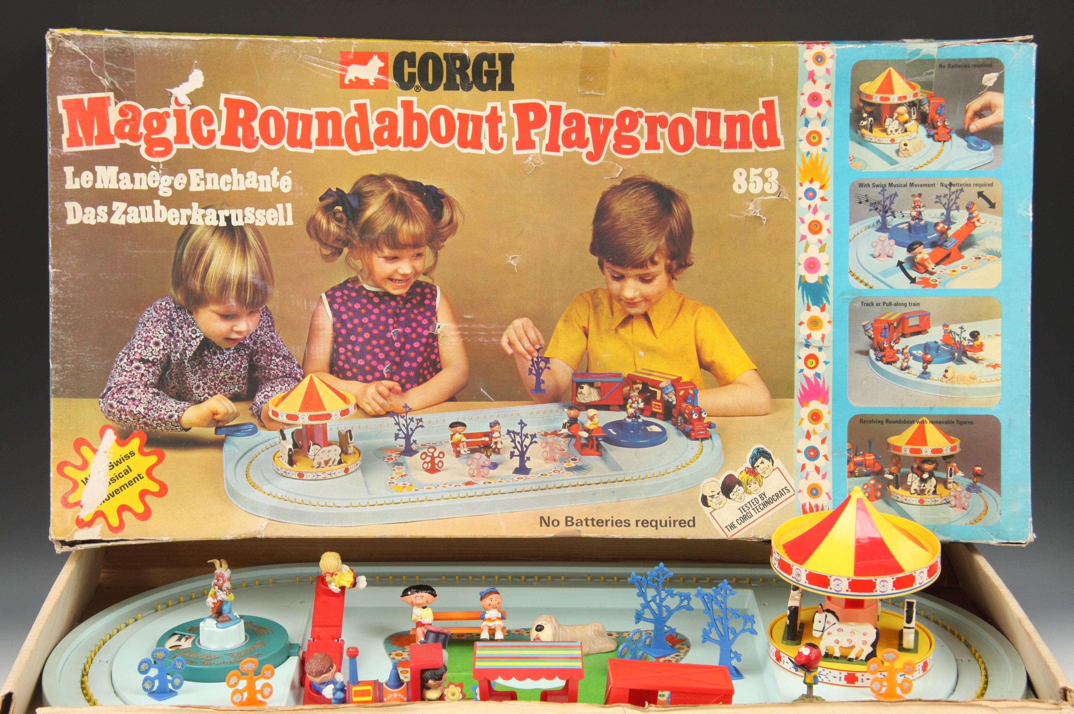 gioco corgi toys vintage-