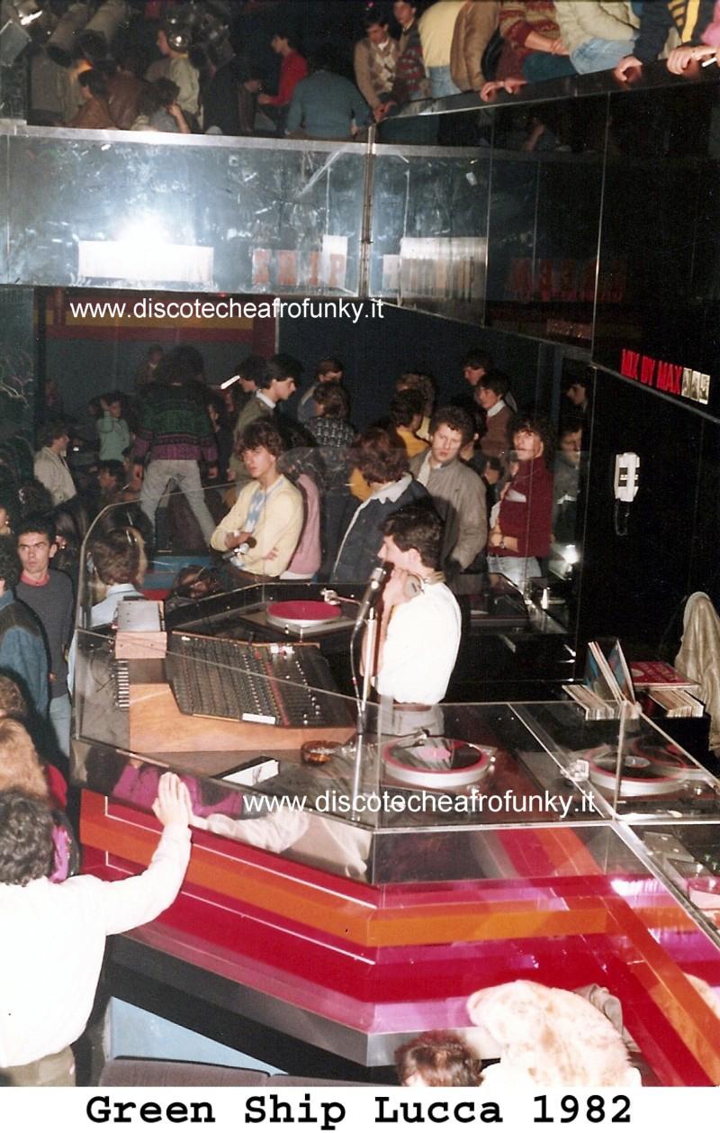 discoteca green ship nave lucca 1982 riccardo ciani
