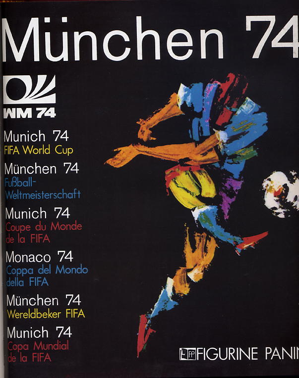 mondiali di calcio 1974 album logo