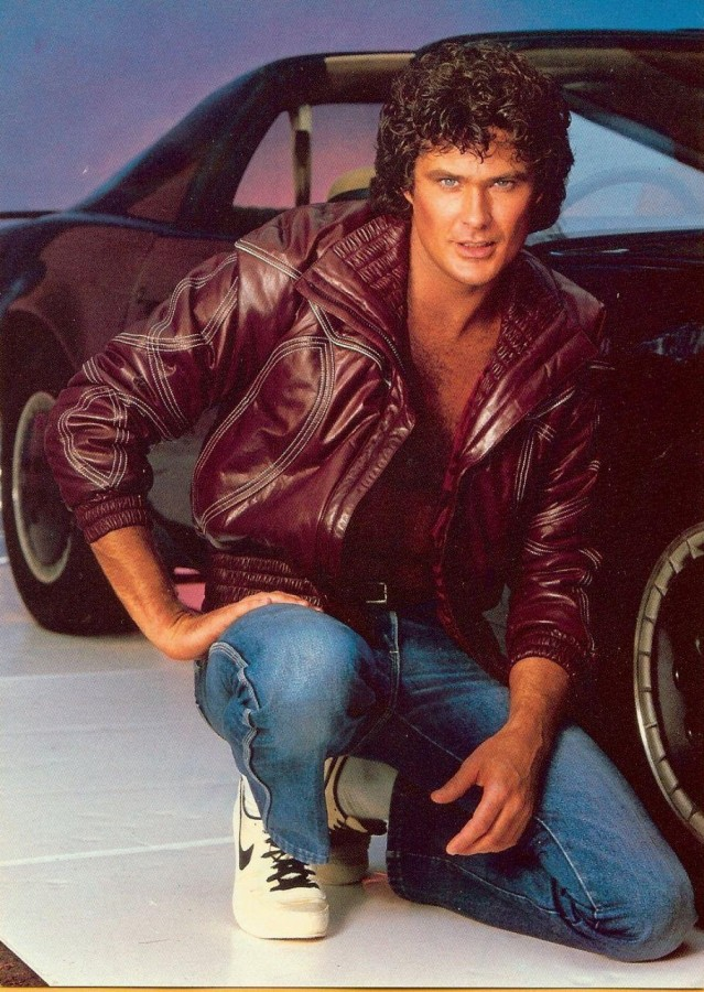 Supercar kitt e David Hasselhoff