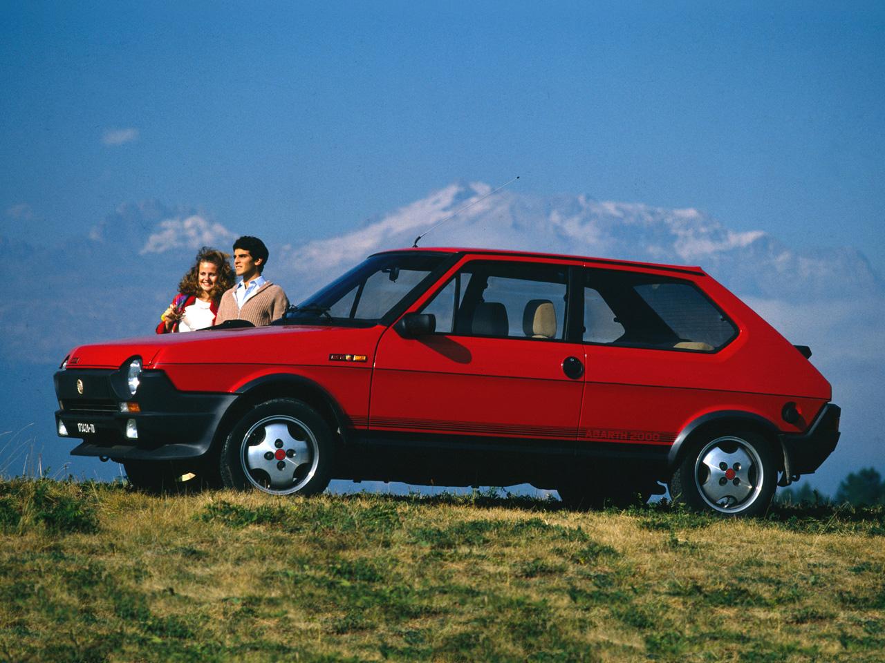 Fiat Ritmo abarth 125 tc 1981