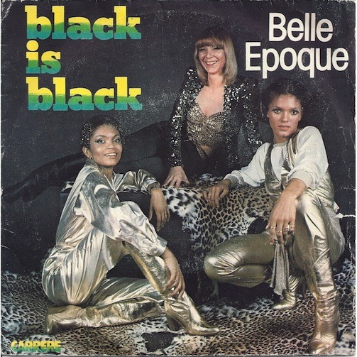 black is black belle epoque copertina 45 giri