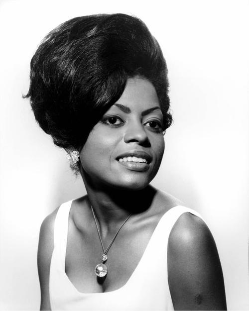 Diana Ross negli anni 60