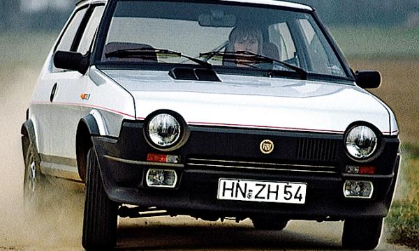 Storia dell'auto: FIAT RITMO ABARTH 105 / 125 / 130 TC – (1981/1988)