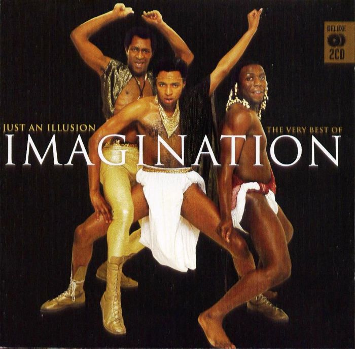 imagination just an illusion copertina