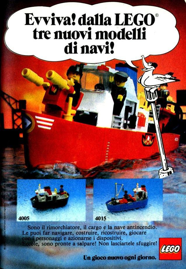 lego pubblicità topolino 1983