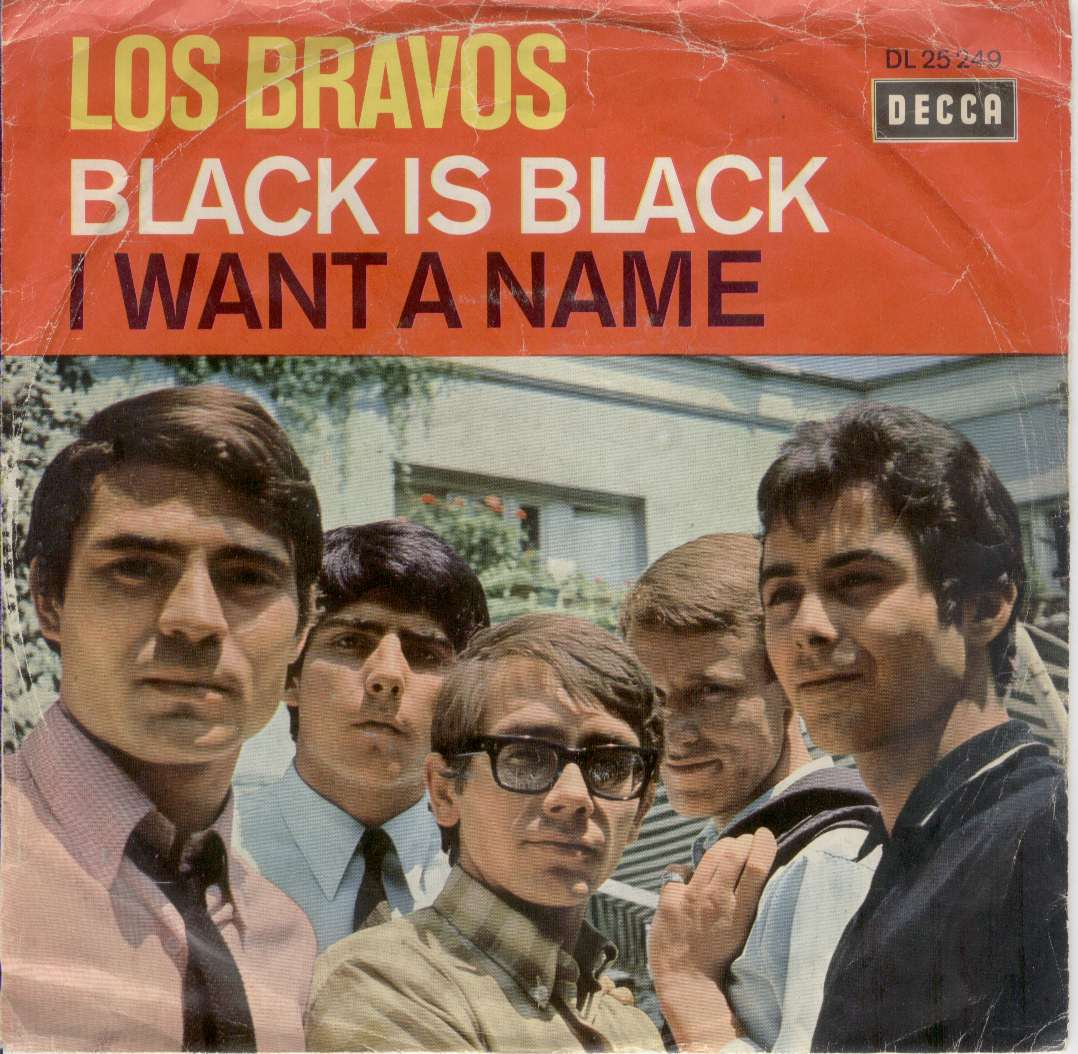 black is black los bravos copertina