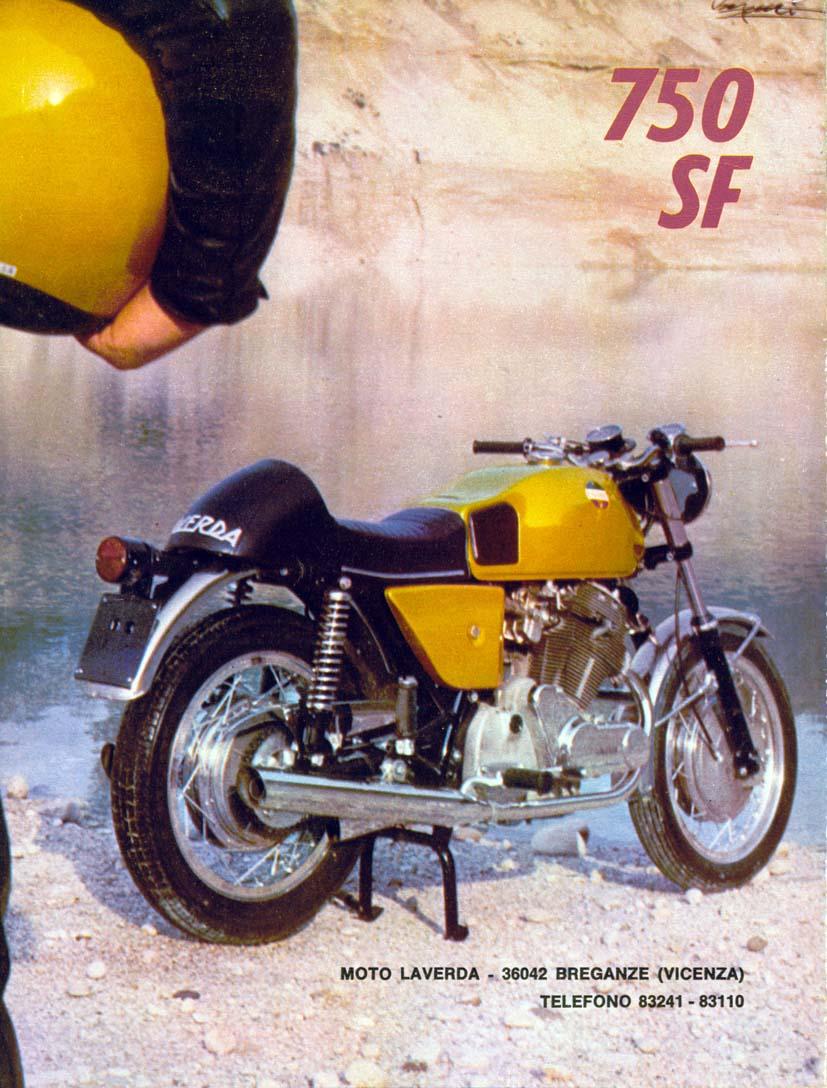 laverda sf 750 1971