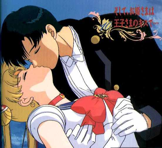 sailor moon milord bacio