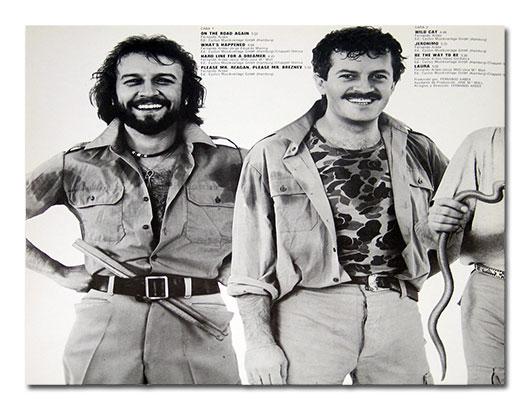 barrabas wild safari jeronimo on the road again 1981 copertina