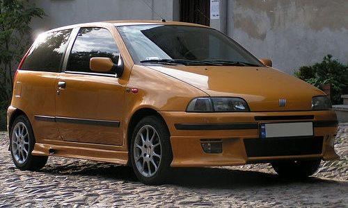 Storia dell'auto: FIAT PUNTO GT – (1993/1999)