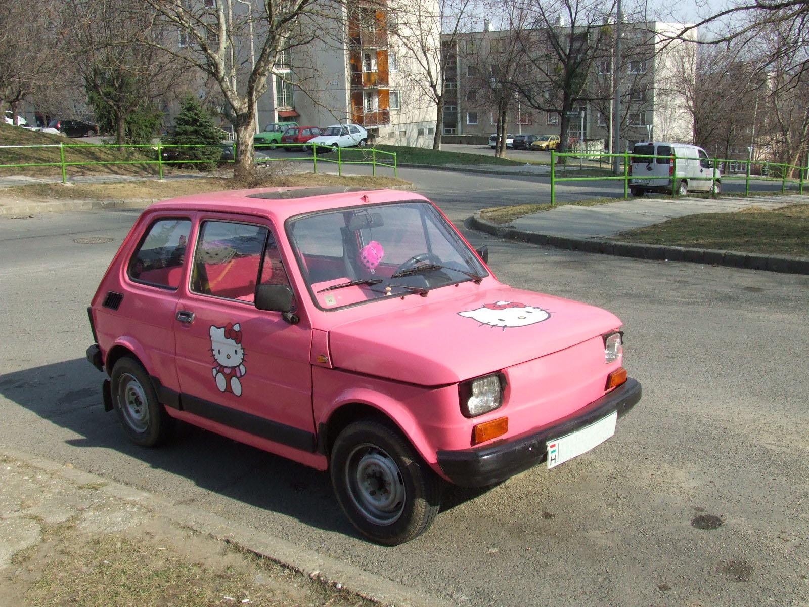 Fiat 126 Hallo Kitty