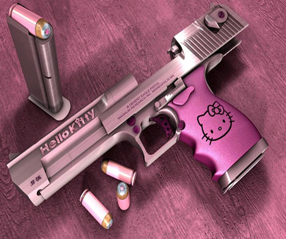 hello kitty tipped gadgets pistola