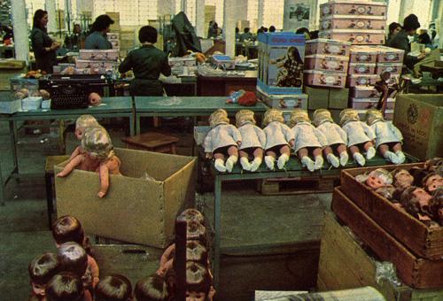Interno fabbrica ItaloCremona - 1970