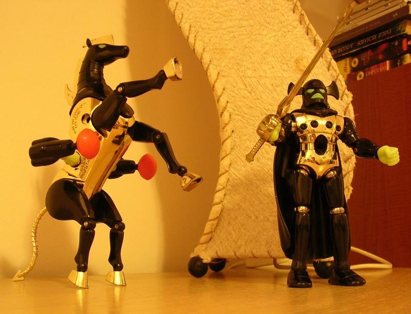 micronauti giocattolo vintage