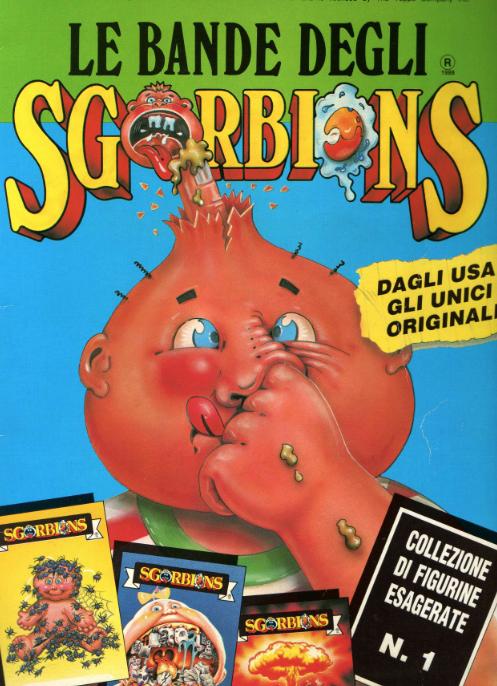 sgorbions giocattolo vintage