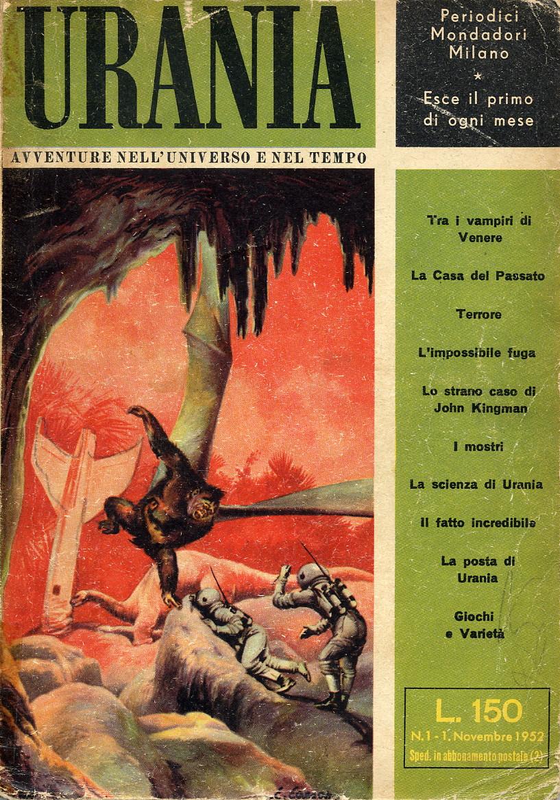 urania copertina numero 1 1952
