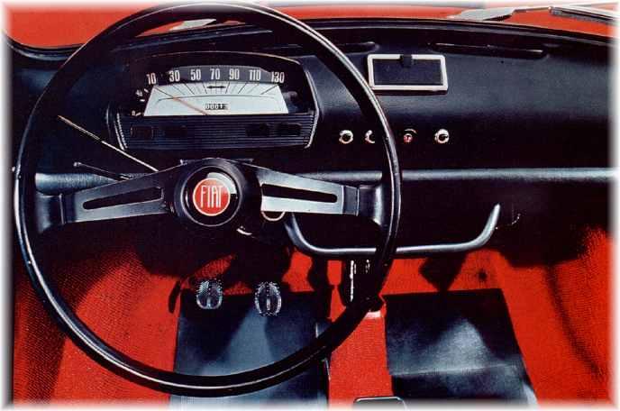 Fiat nuova 500 1957 1975 auto epoca curiosando nel passato for Moquette fiat 500 epoca