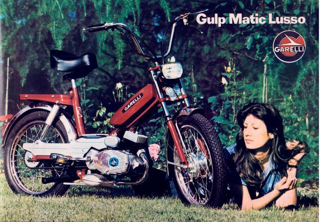 Garelli gulp matic lusso 1975