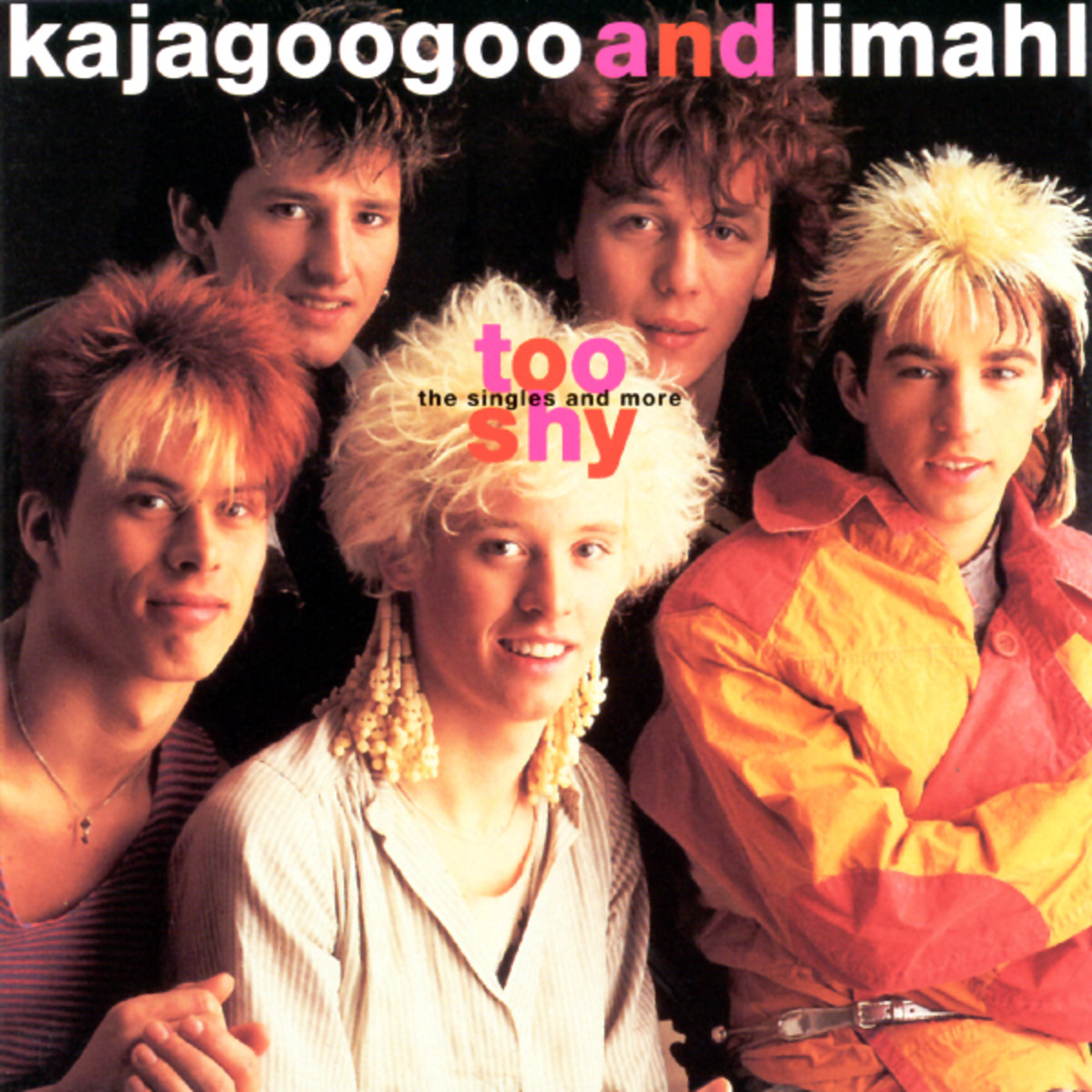Kajagoogoo too shy copertina