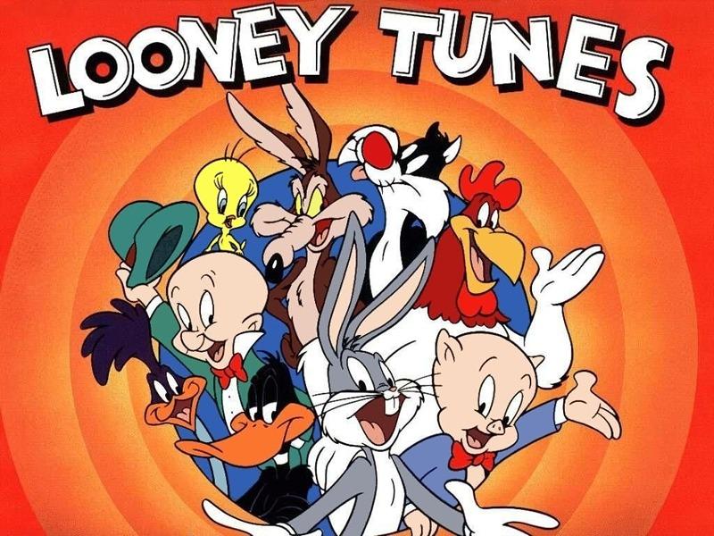 Looney tunes merrie melodies cartoni animati anni