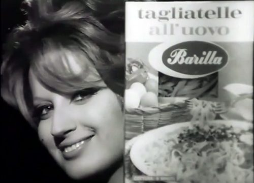 PASTA BARILLA – Carosello con Mina – (1967)