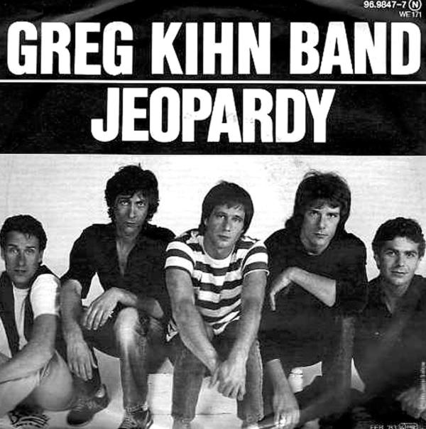Jeopardy greg kihn band copertina