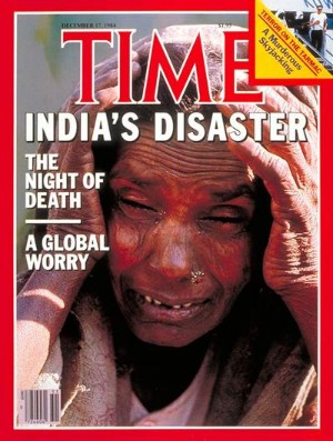 time disastro Bhopal copertina