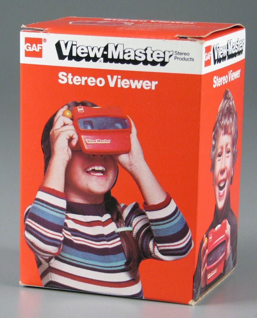 View Master confezione vintage