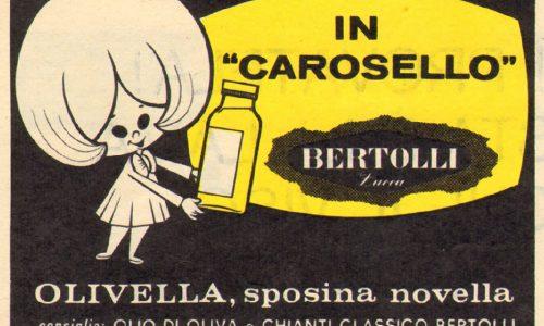 OLIO e CASTELLINO / BERTOLLI – Carosello con Olivella – (Anni 70)