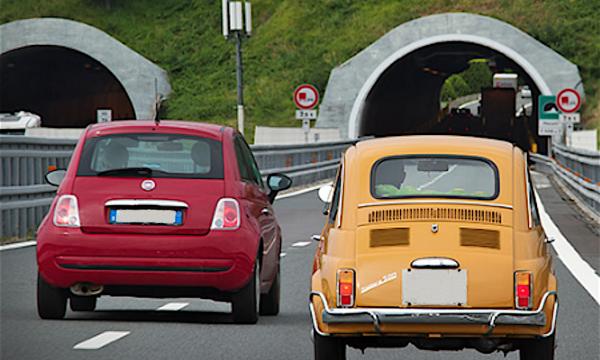 FIAT 500 – Come era e Come è