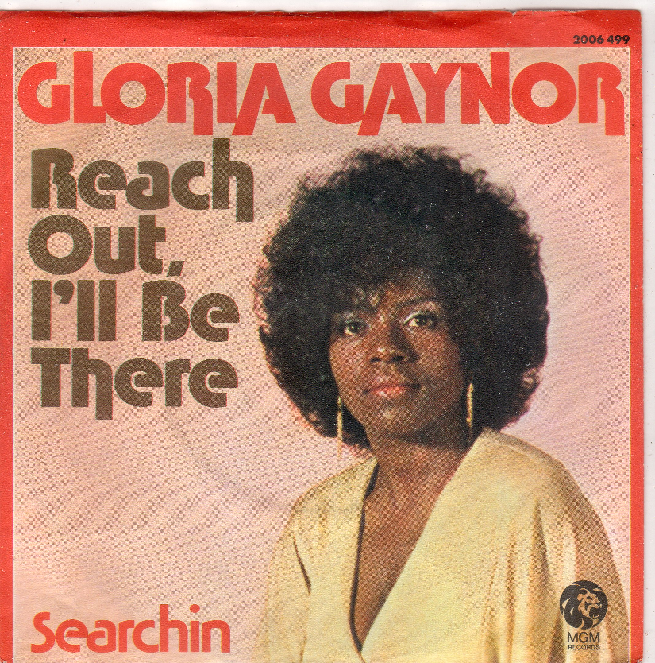 gloria gaynor reach out i'll be there