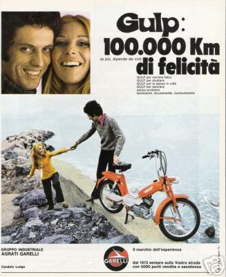 garelli gulp 1971 pubblicità