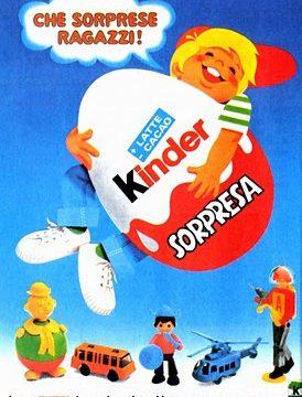 KINDER SORPRESA – (Dal 1968)