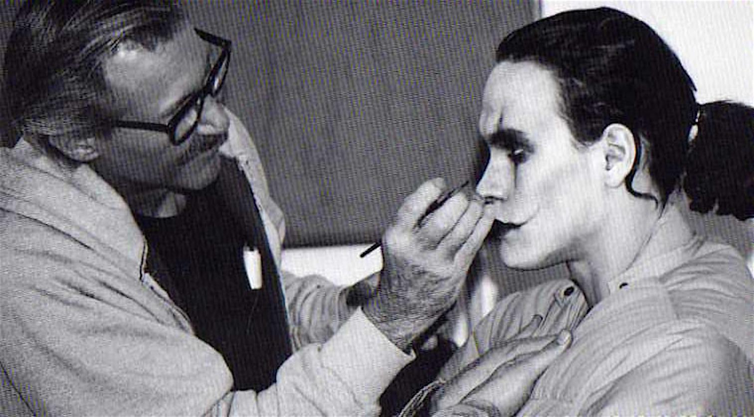 makeup_brandon_lee_il_Corvo_set