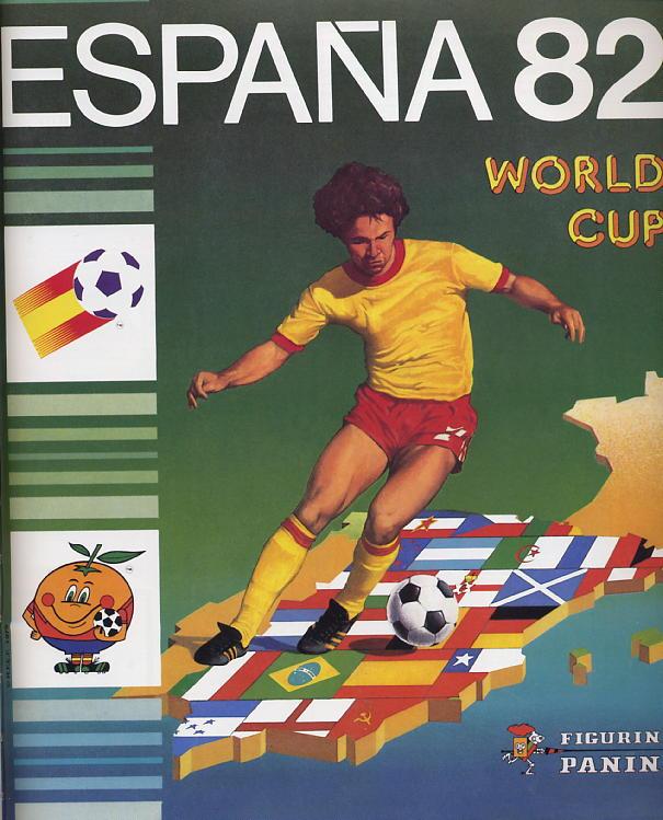 MONDIALI di calcio 1982 ITALIA CAMPIONE