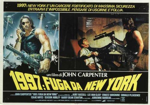 Locandina di 1997 Fuga da New York