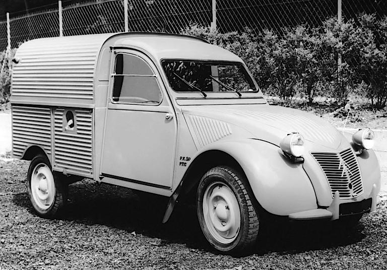Citroën 2CV Fourgonnette AZU 1955–58